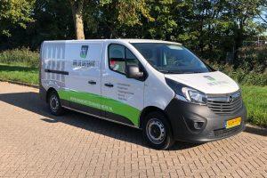 nieuwe werkbus voor onze elektromonteur